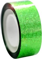 Pastorelli tape metallic fluorescent green