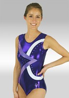 Gymnastic leotard V476