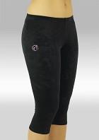 Leggings black smooth velvet K754zw