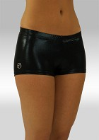 Hotpants Black Wetlook W758zw