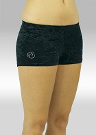 hotpants black crushed velvet 758zw